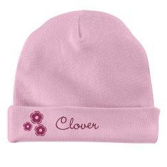 Baby Girl Clover Flower Hat