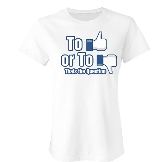 Like or Dislike T-shirt