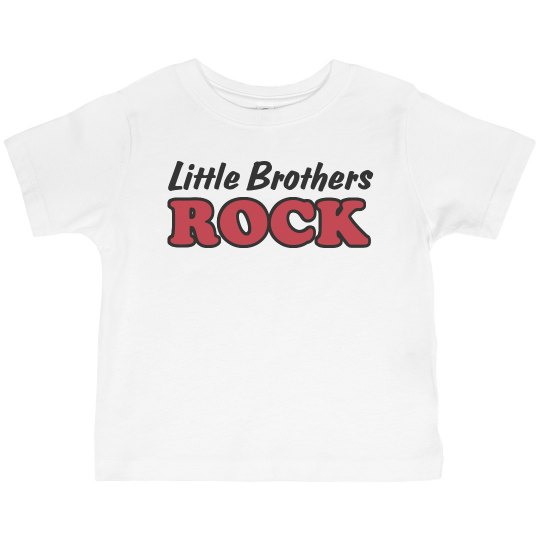 Little Brothers Rock Tee