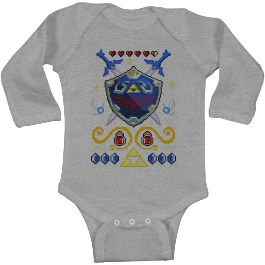 Little Warrior Ugly Onesie