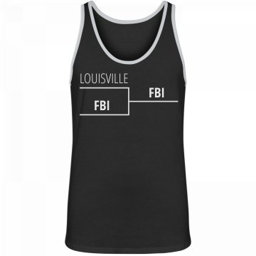 Louisville Against FBI Bracket