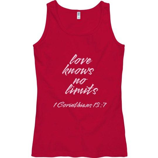Love Knows No Limits - Tank Top