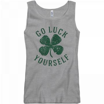 Luck Yourself on St Pattys Girl