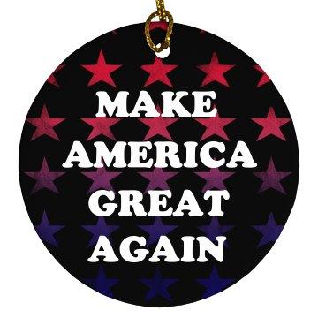 Make America Great Again Colorful Stars