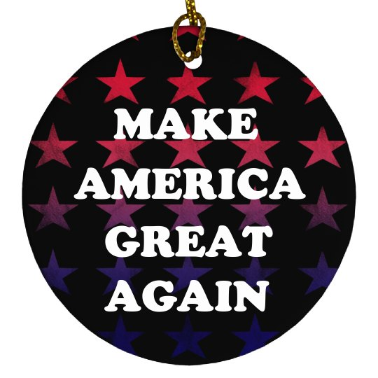 Make America Great Again Colorful Stars