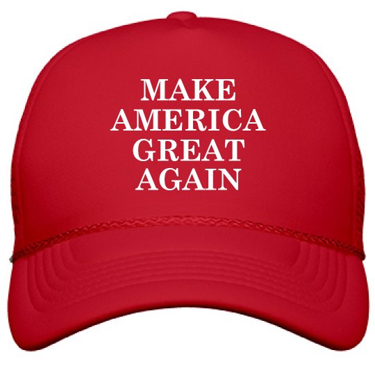 Make America Great Again Red MAGA Hat