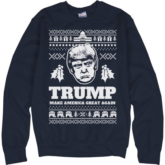 Make America Great Trump Sweater