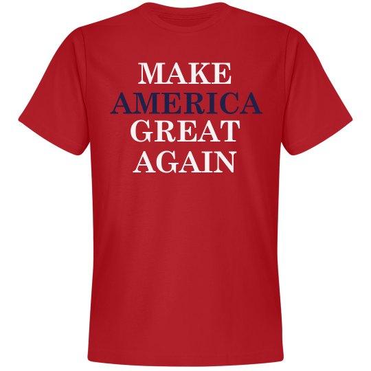 Make America Red White Blue
