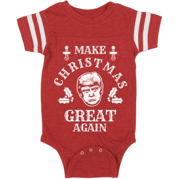 Make Christmas Great Again Baby