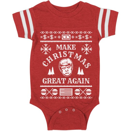 Make Xmas Great Again Onesie