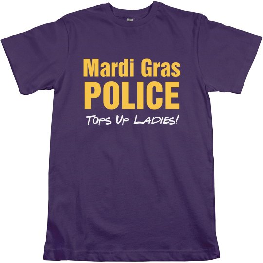 Mardi Gras Tops Up