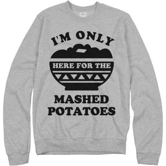 Mashed Potato Turkey Day