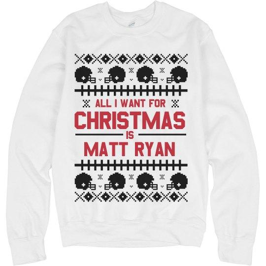 Matt Ryan For Christmas Sweater