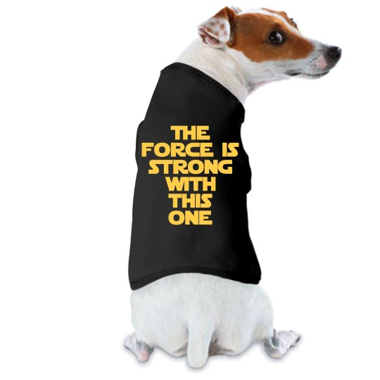 May The Force Jedi Rebel Dog