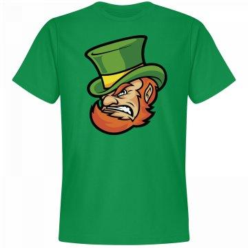 Mean Green Leprechaun Graphic