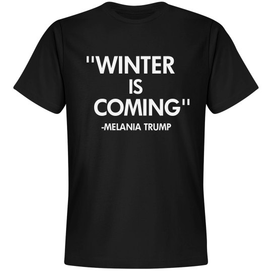 Melania Knows Winter