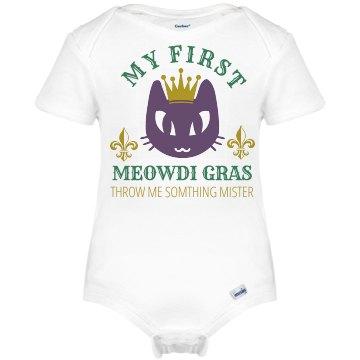 Meow-di Gras Baby