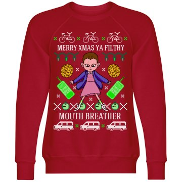 Merry Xmas Filthy Mouth Breather