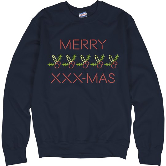 Merry XXX-Mas Naught Sweater