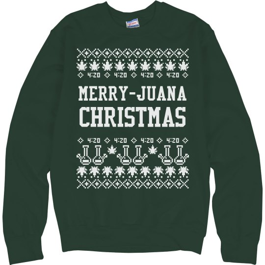 Merry-Juana Christmas Sweater