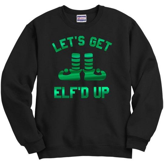 Metallic Elf'd Up Christmas