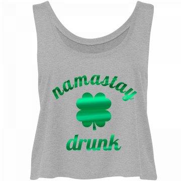 Metallic Namastay Super Drunk