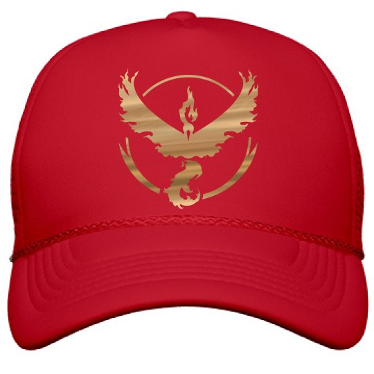 Metallic Valor Trainer Hat