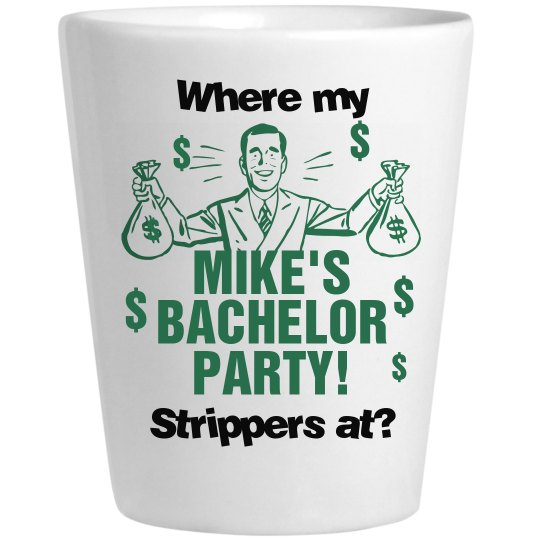 Mike's Bachelor Shot