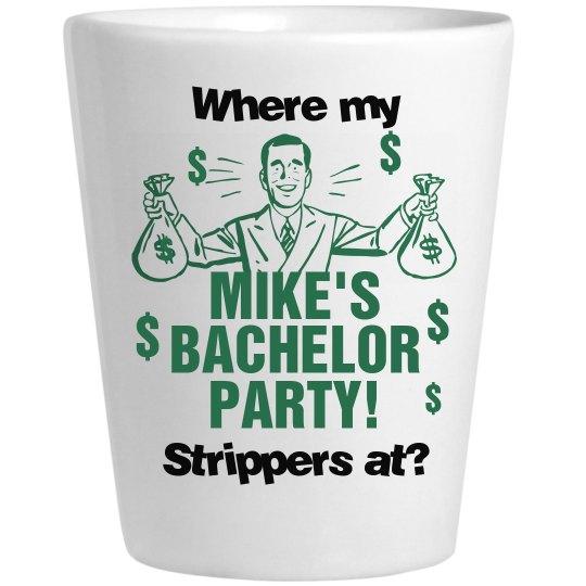 Mike's Bachelor Shot