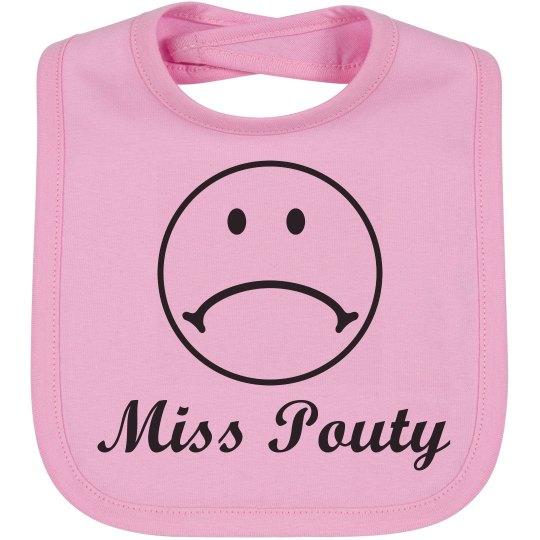 Miss Pouty Bib