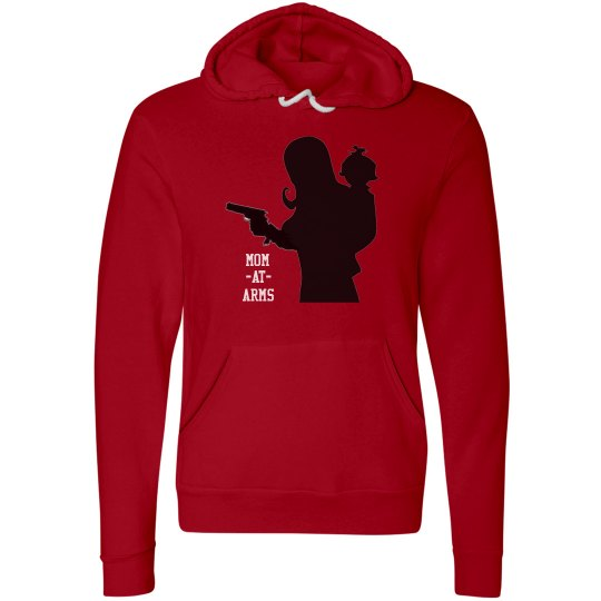 Mom-At-Arms Hoodie RED