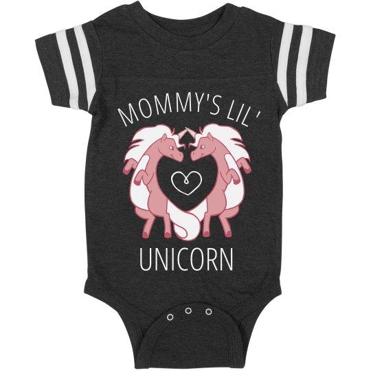 Mommy's Lil' Custom Unicorn Onesie