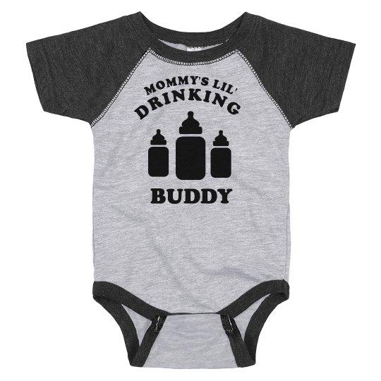 Mommy's Lil' Drinking Buddy Bodysuit