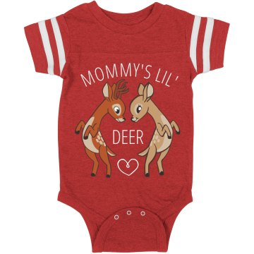 Mommy's Little Dear Onsie