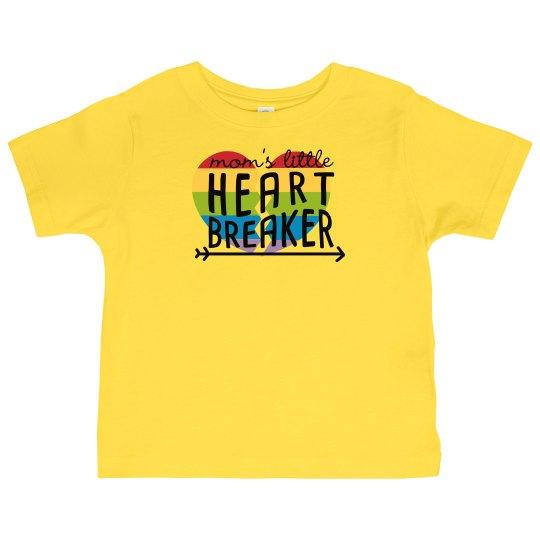Moms Little Heart Breaker - Toddler
