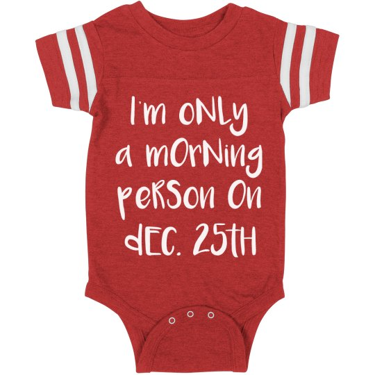 Morning Baby On Christmas