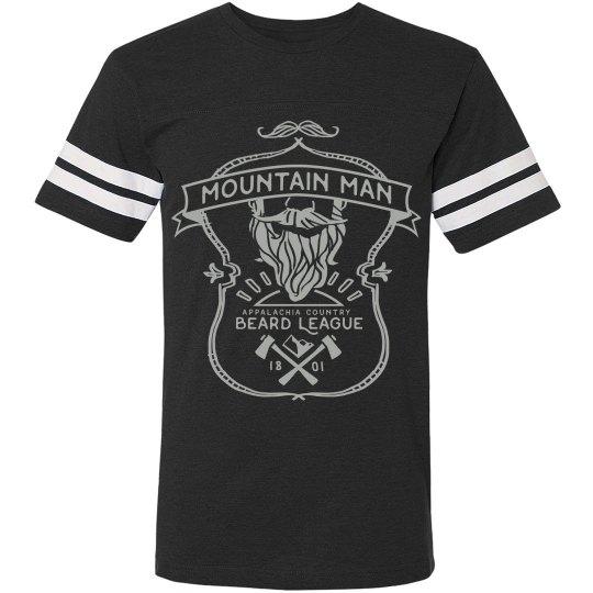 Mountain Man And His Beard
