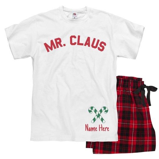 Mr. Claus Custom Xmas Pajamas