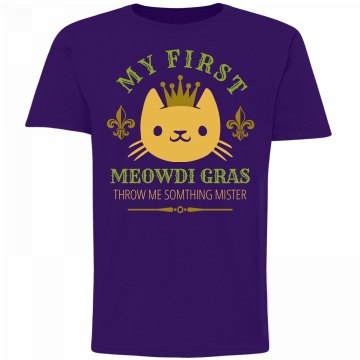 My First Meow-di Gras