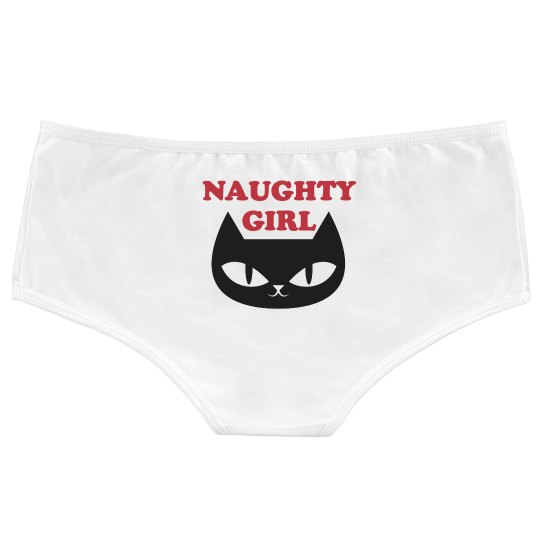 Naughty Girl Cat Undies