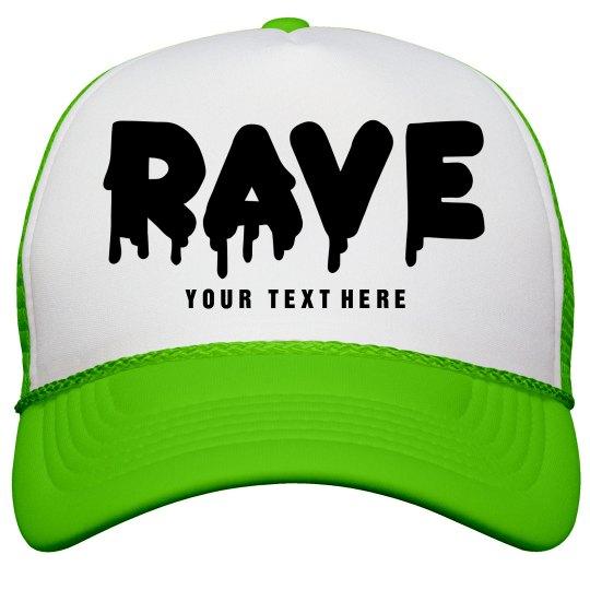Neon Rave Hat