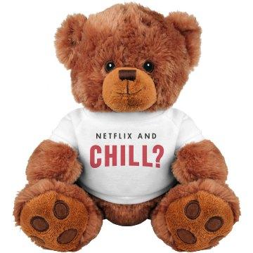Netflix & Chill Valentine Bear
