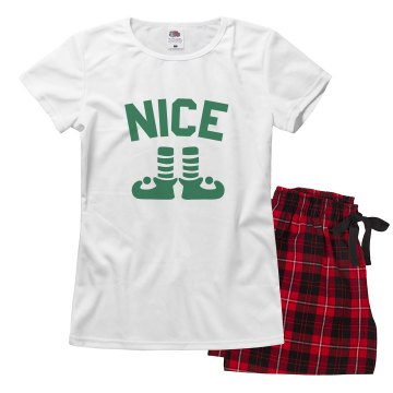 Nice Xmas Family Pajamas