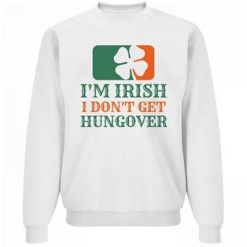 No Irish Hangovers St Patricks