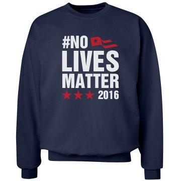 No Lives matter 2016 Navy