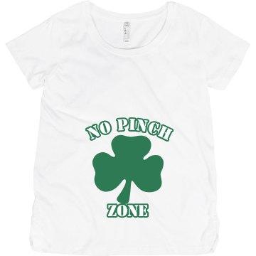 No Pinch Zone Shamrock Maternity