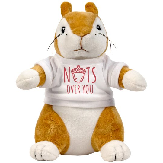 Nuts About You Custom Squirrel