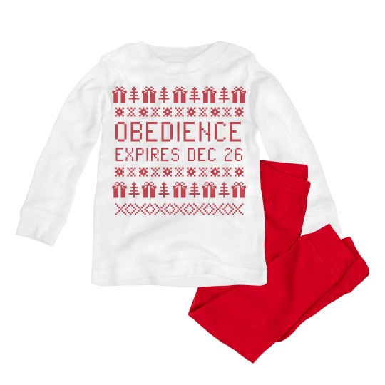 Obedient for Christmas