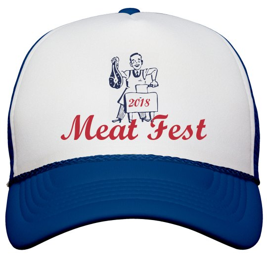 Official 2018 Meat Fest Hat