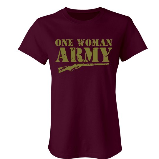 One Woman Army T-Shirt